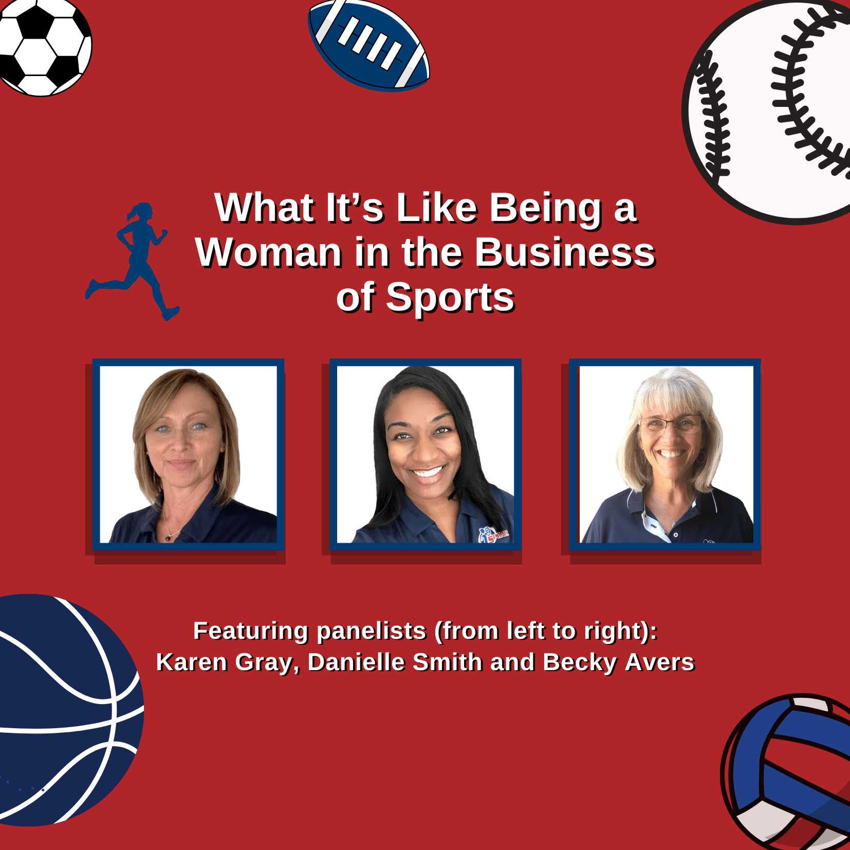 Webinar: What It's Like Being a Woman in the Business of Sports